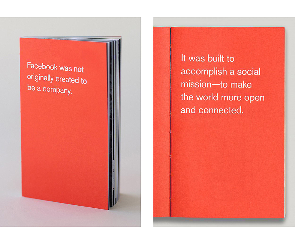 Facebook's Little Red Book For Employees