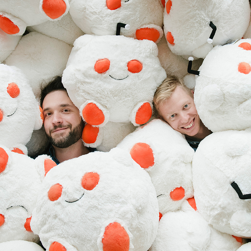Reddit Founders Steve Huffman and Alexis Ohanian