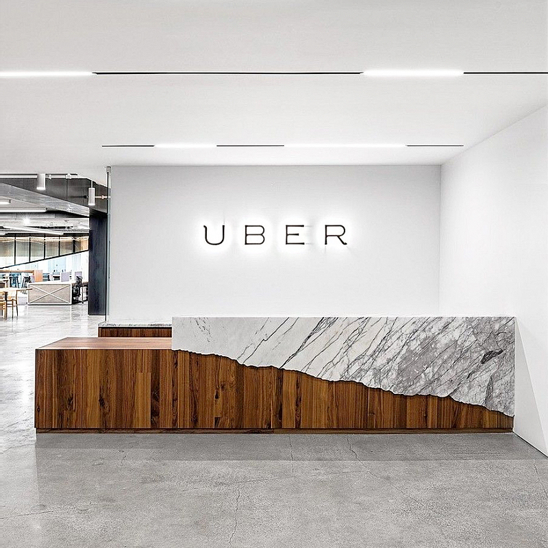 Uber's Headquarters In San Francisco, CA